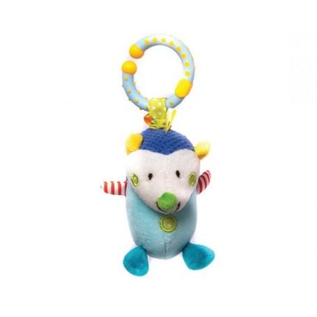 Vibrating hedgehog toy