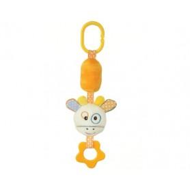 Giraffe bell toy