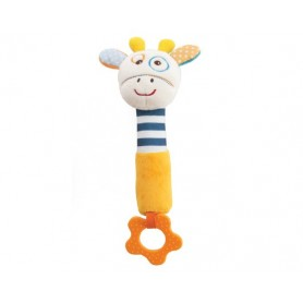 Giraffe squeaker toy