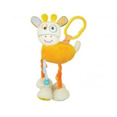Giraffe vibrating activity toy
