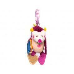 Activity hedgehog toy pink