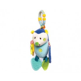 Activity hedgehog toy azul