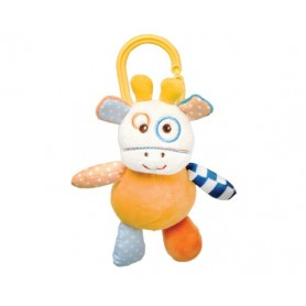 Vibrating giraffe toy