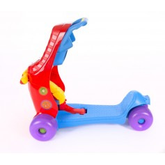 Ride-On 3 in 1 Red / Blue