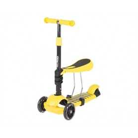 Scooter 3 in 1 Yellow