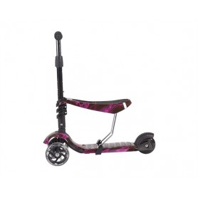 Scooter 3 in 1 Ride and Skate Thunder