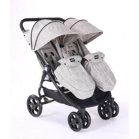 Stroller for twins Happy 2 - Beige