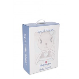 Manta Rabbits Mint 110x140cm