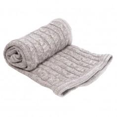 Gray mix blanket