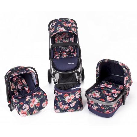 Baby stroller 3 in 1 Leilani Leaves