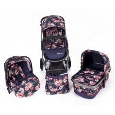 Baby stroller 3 in 1 Leilani Leaves