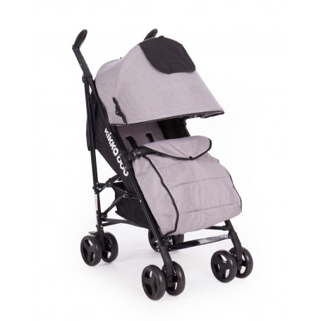 Pushchair Quincy Grey Melange