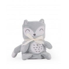 Manta bebé 3D Fox