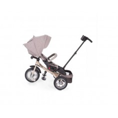 Tricycle premio  air wheels beige melange+