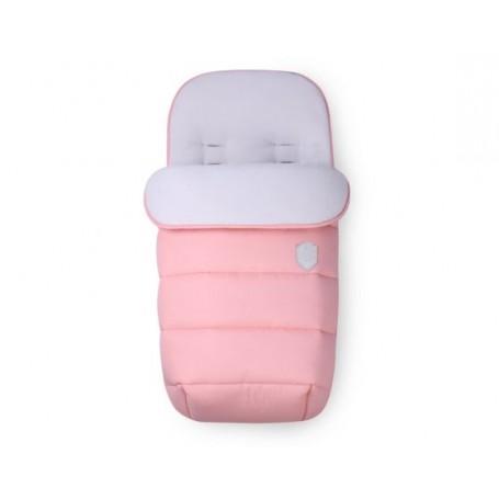 Cubrepies Bordado Rosa Baby