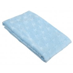 FLANNEL BLANKET - BLUE