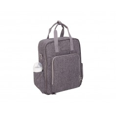 Bolso maternal Ivy Gris Oscuro