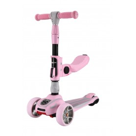 Scooter Roadster 3 in 1 Rosa