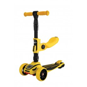 Scooter Roadster 3 in 1 Amarillo