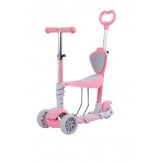 Scooter 4 in 1 BonBon Pink meme