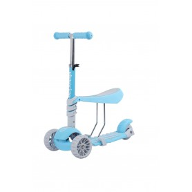 Scooter 3 in 1 BonBon Blue