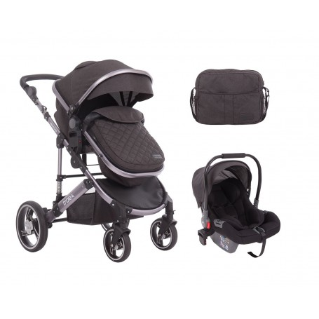 D`ora 3 in 1 Transformable Grey