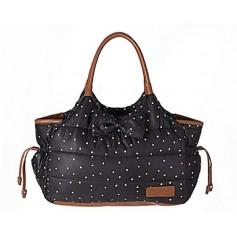 Black Dotty Bag