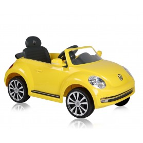 Rechargeable car Vw beetle convertible 6v yellow