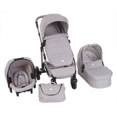 UGO 3 in 1 Light Grey Melange