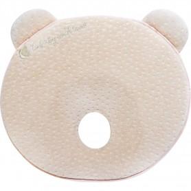 Memory foam ergonomic pillow Bear elvet Beige