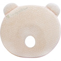 Memory foam ergonomic pillow Bear elvet Beige