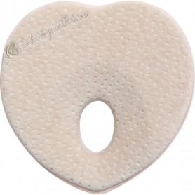 Memory foam ergonomic pillow Heart Velvet Beige