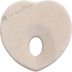 Memory foam ergonomic pillow Heart Velvet Beige