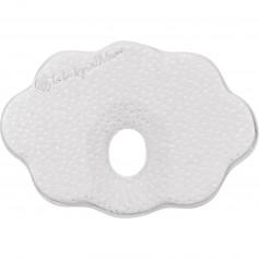 Almohada ergonómica de espuma viscoelástica Velvet Cloud Grey
