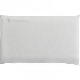 Almohada ventilada Memory Foam de terciopelo gris