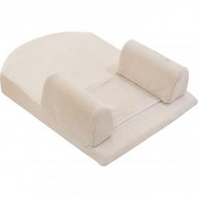 Posicionador Memory Foam para dormir de Terciopelo beige