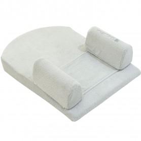 Posicionador Memory Foam para dormir de terciopelo Mint