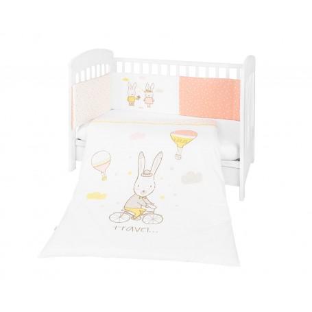 Juego de cuna 2 piezas Rabbits in Love 60*120
