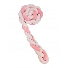 Protector 180 cm 3 trenzas (12cm) Rosa