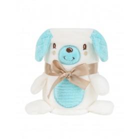 Manta con bordado 3D Puppy