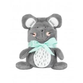 Manta  con bordado 3D Mouse