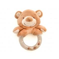 Plastic rattle bear